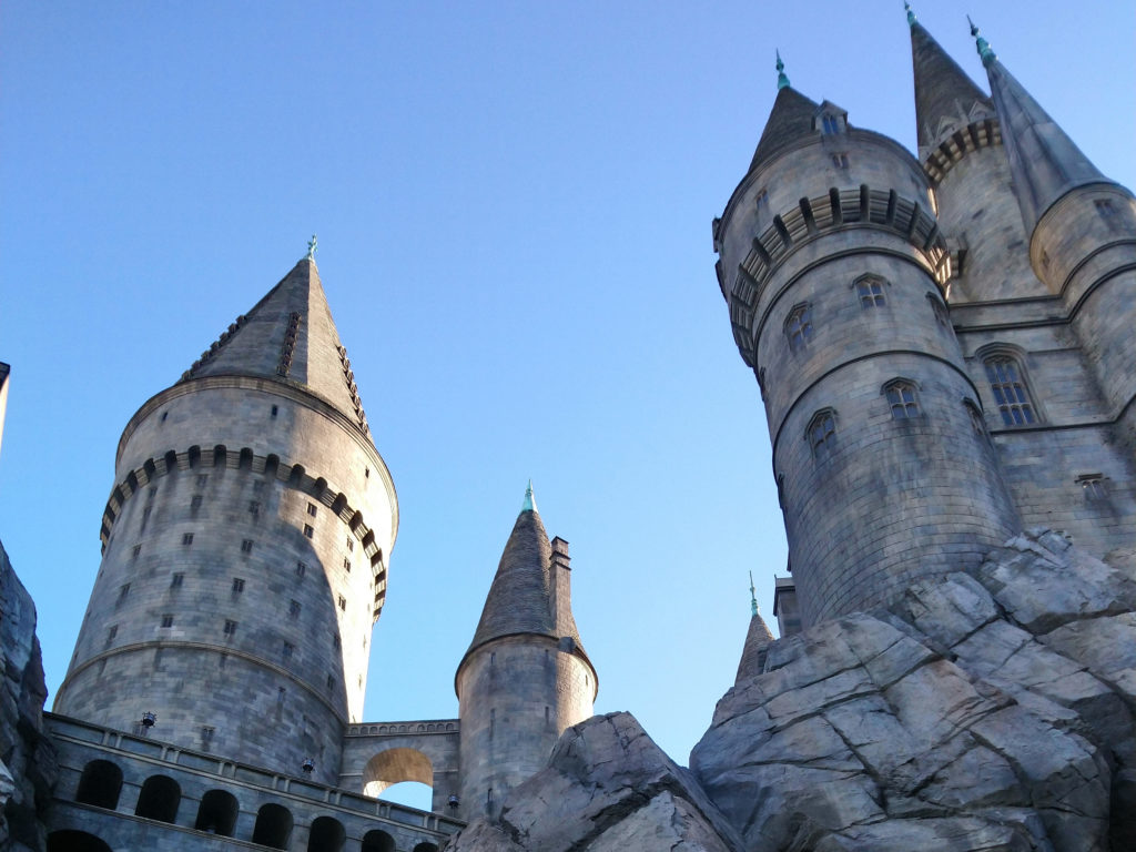 chateau Harry Potter Universal Studios Hollywood