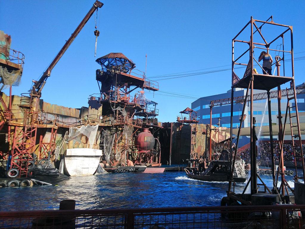 attraction waterworld universal studios hollywood