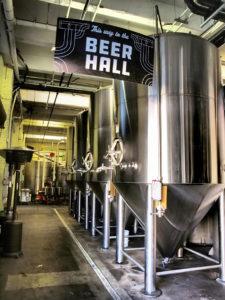le Beer Hall de la brasserie Angel City