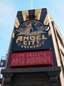 devanture d'Angel City Brewery