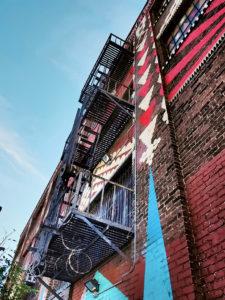 escaliers de secours art district