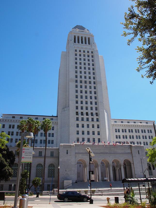 hotel de ville Los Angeles