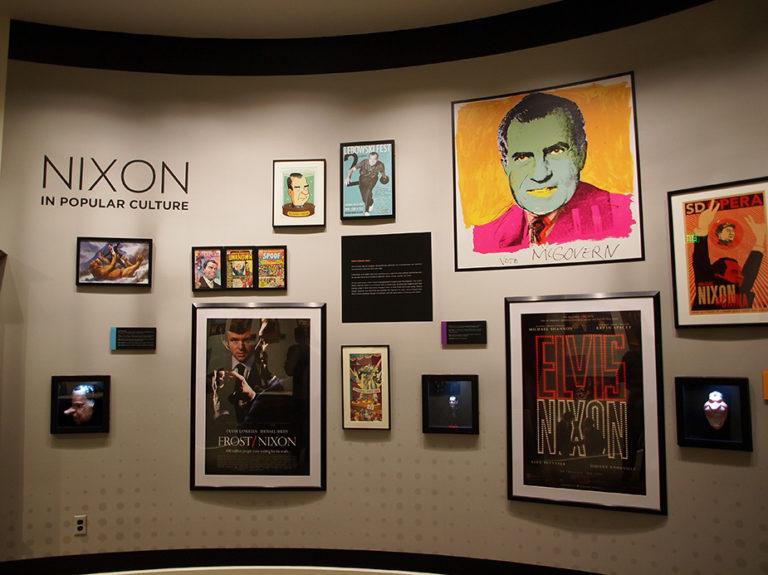 Représentations artistiques de Richard Nixon à Richard Nixon Library and Museum