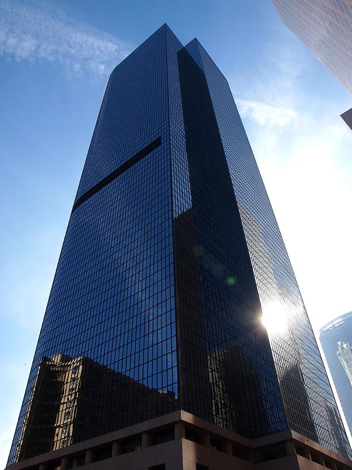 le gratte-ciel Bank West à Los Angeles vu dans la série Lucifer