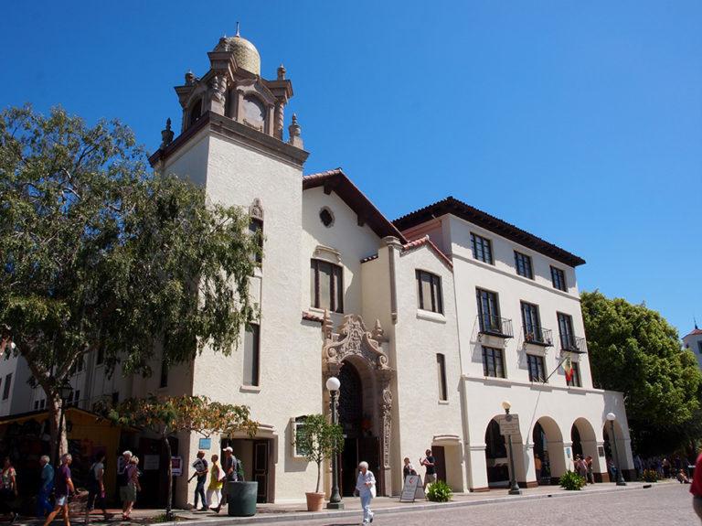 bâtiment situé à El Pueblo Los Angeles