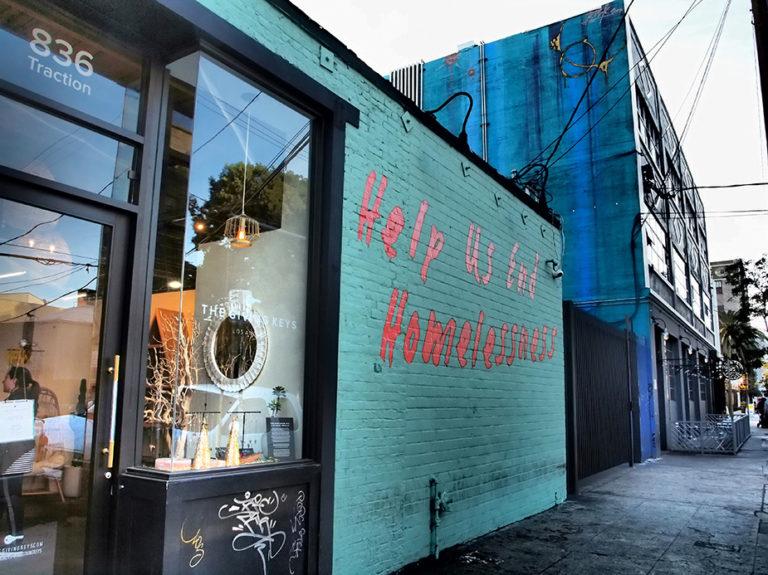Ancienne boutique de bijoux à Los Angeles