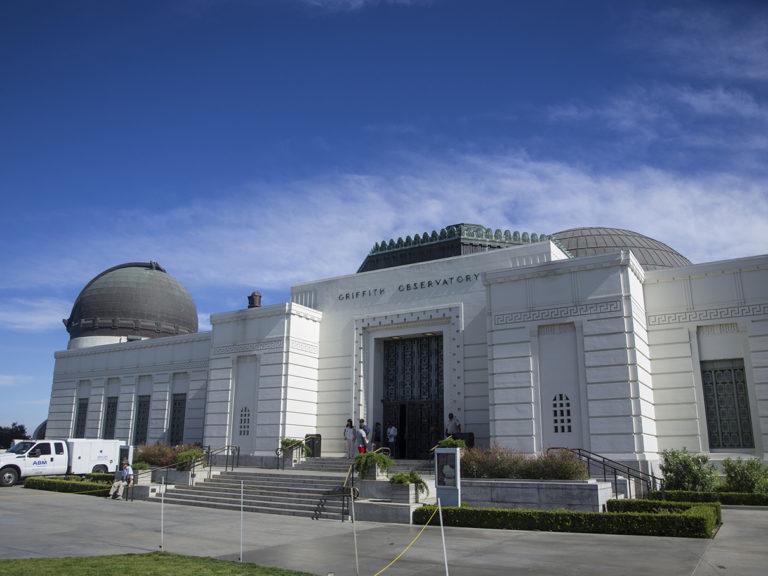 griffith observatory depuis le parvis