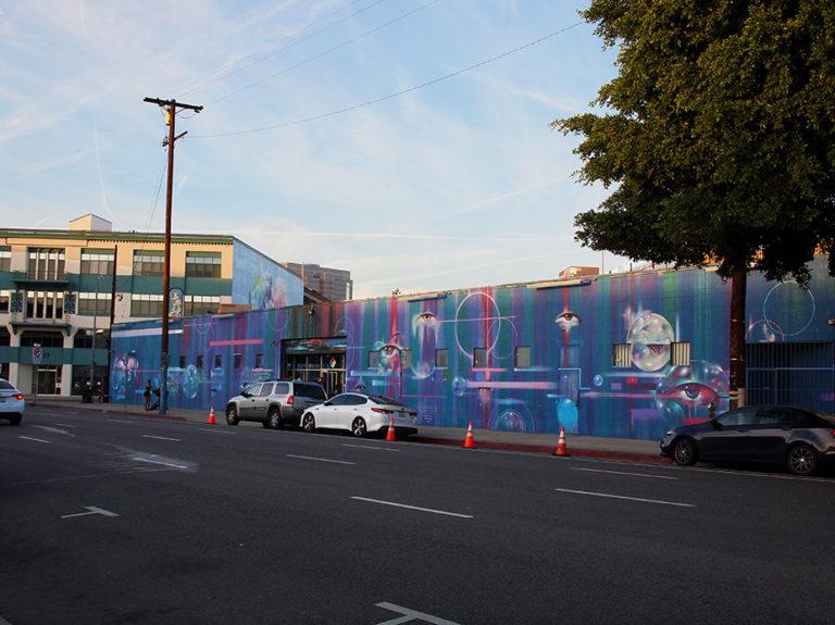 façade du bar Eighy two à Art District Los Angeles