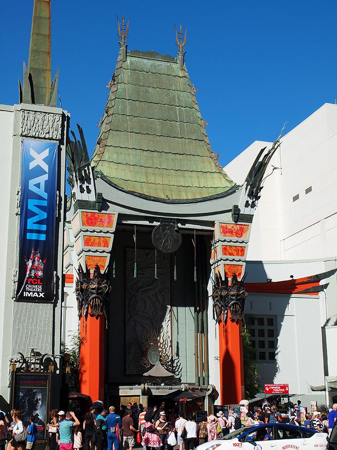 Grauman's Chinese Theatre vue de côté