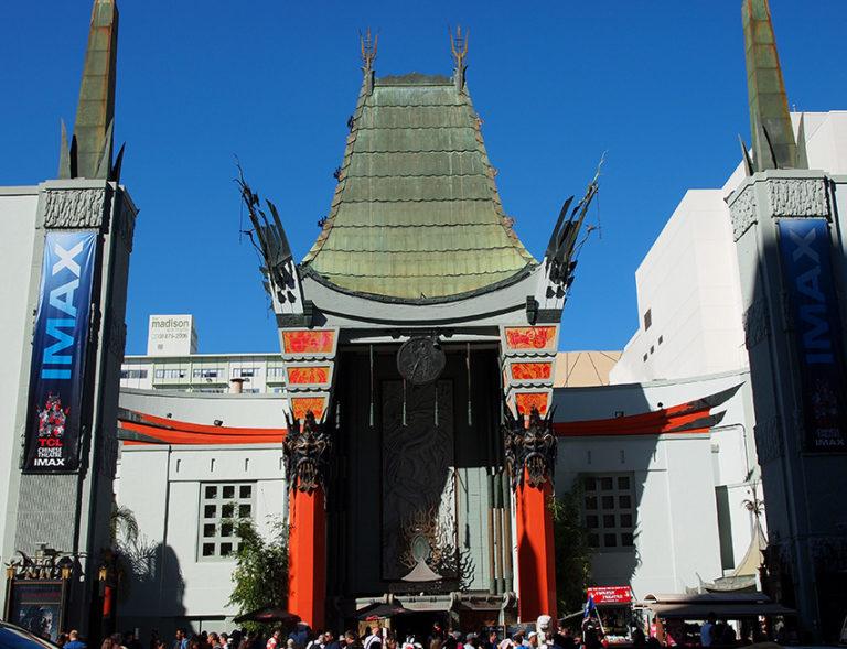Vue générale du Grauman's Chinese Theatre
