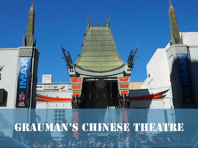 le Grauman's Chinese Theatre vue générale