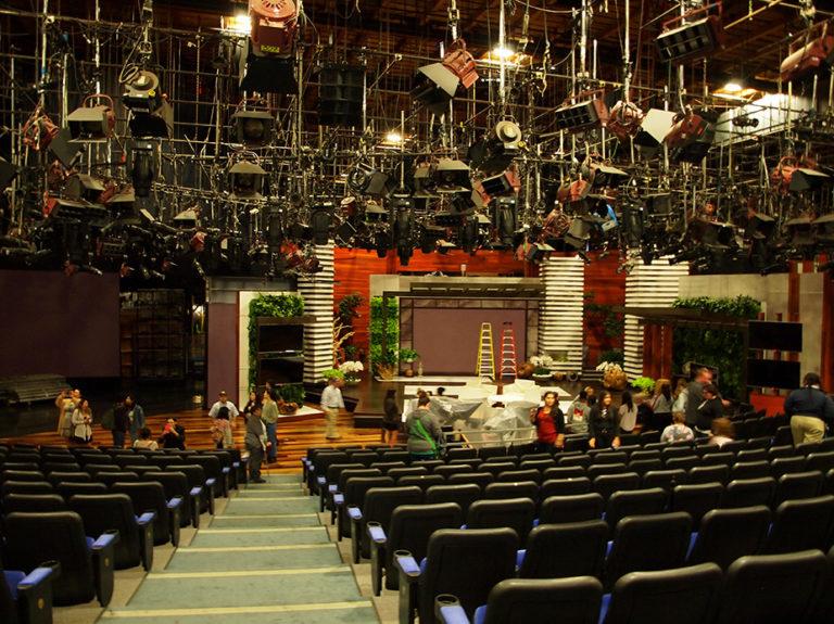plateau du talk show d'Ellen Degeneres aux studios Warner Bros