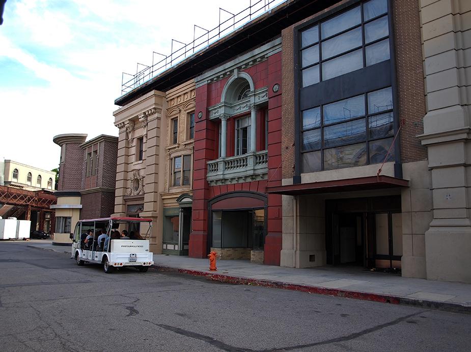 Décors extérieurs de Warner Bros Studios