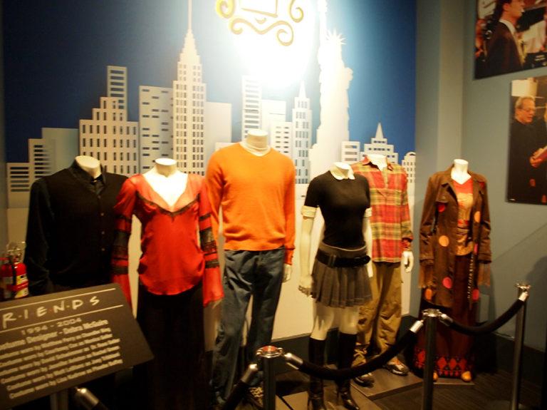 Costumes des acteurs de Friends aux Studios Warner Bros