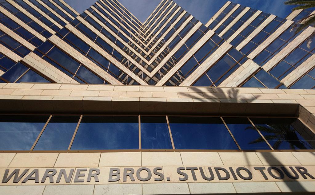 vue de l'accueil de Warner Bros Studios Hollywood
