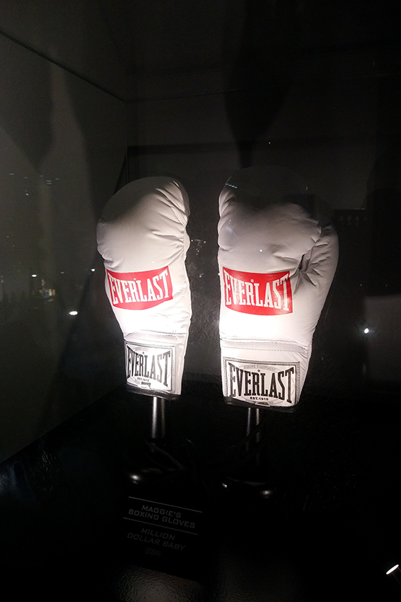 Gants de boxe du film Million Dollar Baby